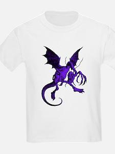 Jabberwocky Purple Fill T-Shirt
