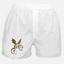 Jabberwocky Sepia Boxer Shorts