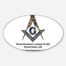 Custom Blue Lodge Products Decal