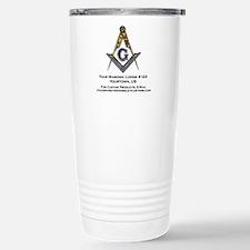 Custom Blue Lodge Travel Mug