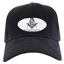 Custom Blue Lodge Products Baseball Hat