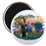 St. Fran. #2 / Great Dane (nat) Magnet