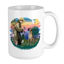 St. Fran. #2 / Great Dane (nat) Mug