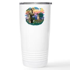 St. Fran. #2 / Great Dane (nat) Travel Mug