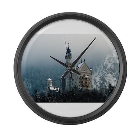 Germany Neuschwanstein Castle Large Wall Clock