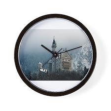 Germany Neuschwanstein Castle Wall Clock