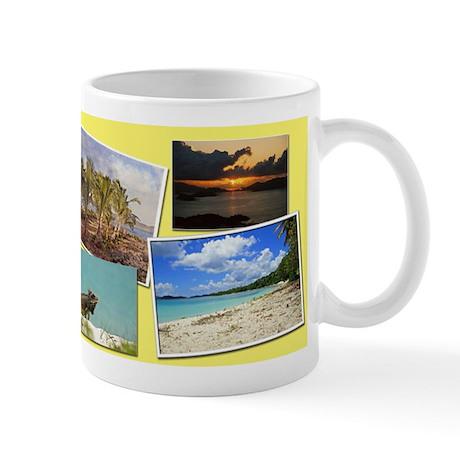 St. Thomas USVI collage Mug