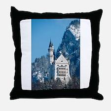 Germany Neuschwanstein Castle Throw Pillow