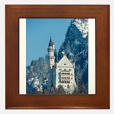 Germany Neuschwanstein Castle Framed Tile