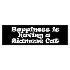Siamese Cat Car Sticker