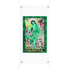 Absinthe Green Fairy Banner
