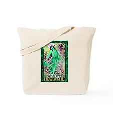 Absinthe Green Fairy Tote Bag