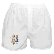 ALICE & THE WHITE QUEEN Boxer Shorts