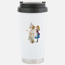 ALICE & THE WHITE QUEEN Stainless Steel Travel Mug