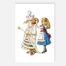 ALICE & THE WHITE QUEEN Postcards (Package of 8)