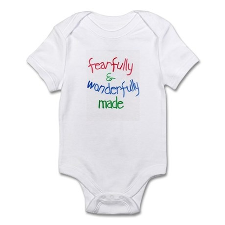 Psalm 139:14 Infant Bodysuit