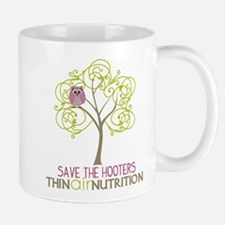 Cute Save the hooters Mug