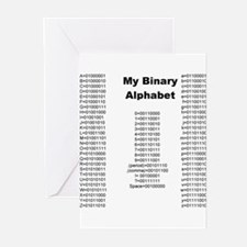 Cute Binary Greeting Cards (Pk of 20)