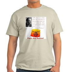 Rothbard's Button T-Shirt