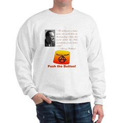 Rothbard's Button Sweatshirt