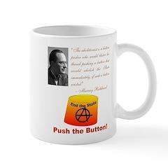 Rothbard's Button Mug