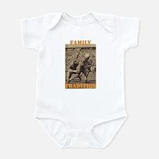 Unique Tennessee volunteers Infant Bodysuit