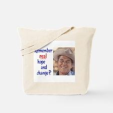 real hope and change Tote Bag