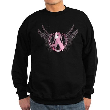 Awareness Tribal Pink Sweatshirt (dark)