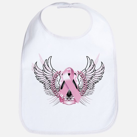 Awareness Tribal Pink Bib