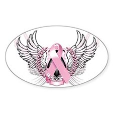 Awareness Tribal Pink Decal