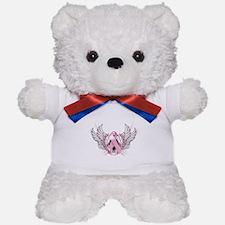 Awareness Tribal Pink Teddy Bear