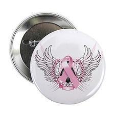 """Awareness Tribal Pink 2.25"""" Button"""