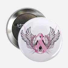 "Awareness Tribal Pink 2.25"" Button"