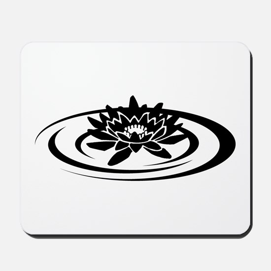 Floating Lotus Mousepad