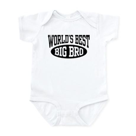World's Best Big Brother Infant Bodysuit
