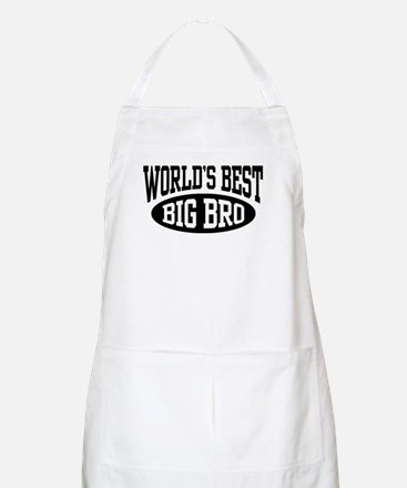 World's Best Big Brother Apron