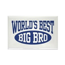 World's Best Big Brother Rectangle Magnet