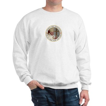 Pray For Pope Benedict XVI Sweatshirt