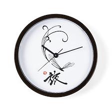 Dragonfly Journey Clock