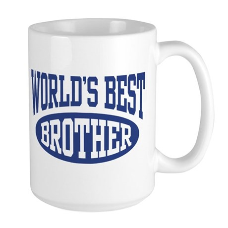 World's Best Brother Large Mug