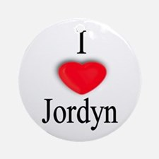 Jordyn Ornament (Round)