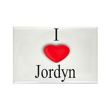 Jordyn Rectangle Magnet