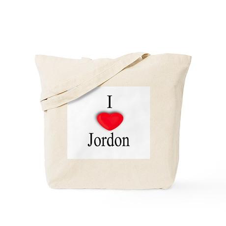 Jordon Tote Bag