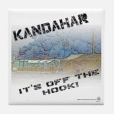 Kandahar is Off the Hook Tile Coaster
