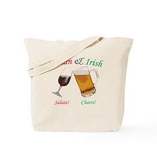 Italian and Irish Tote Bag
