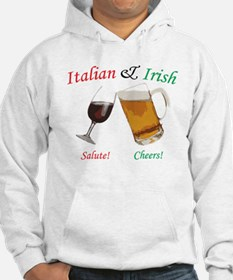 Italian and Irish Hoodie
