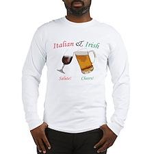 Italian and Irish Long Sleeve T-Shirt