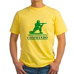 Commando Yellow T-Shirt