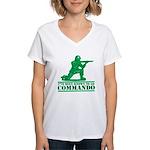 Commando Women's V-Neck T-Shirt