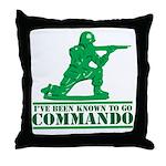 Commando Throw Pillow